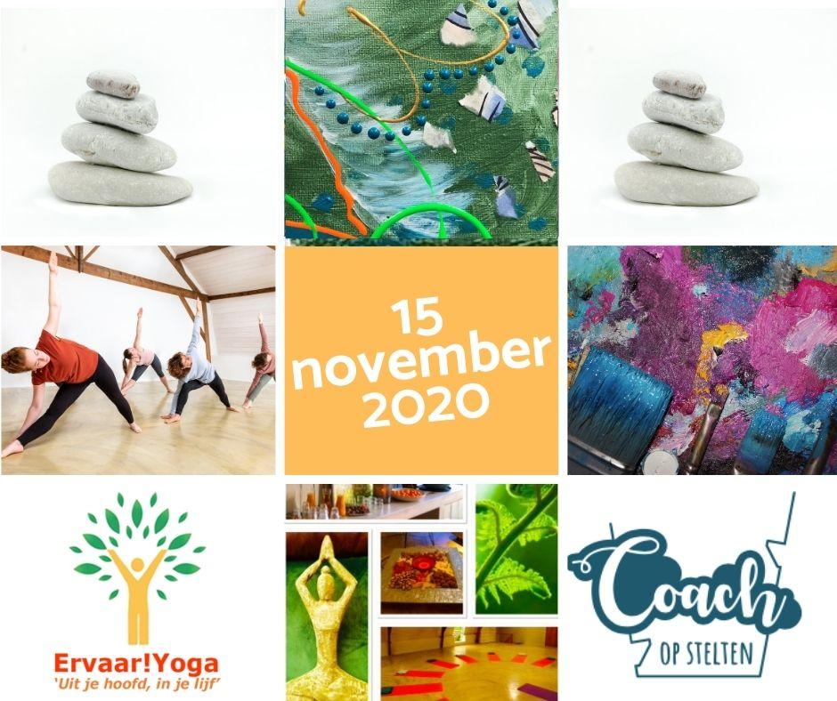 yoga, creatie, workshop, Cuijk
